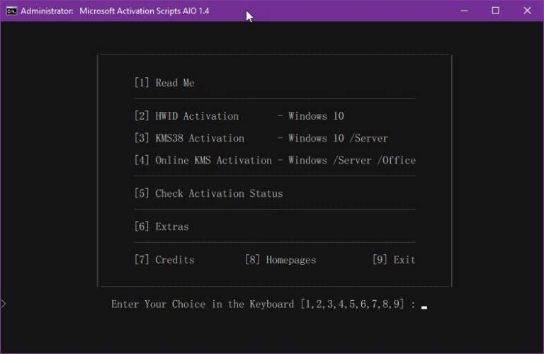 Download Microsoft Activation Scripts 1.4 – Active windows và Office mới nhất