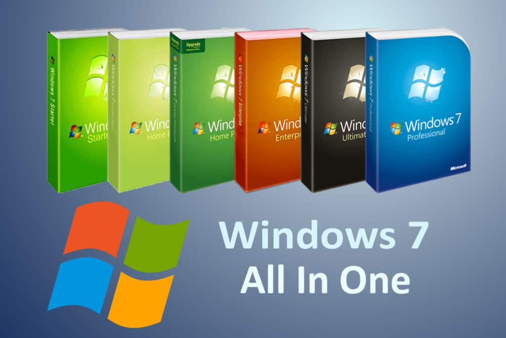 Download Windows 7 All in One Full Crack mới nhất 2021